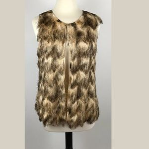 Travelers Collection Chico's Animal Print Vest